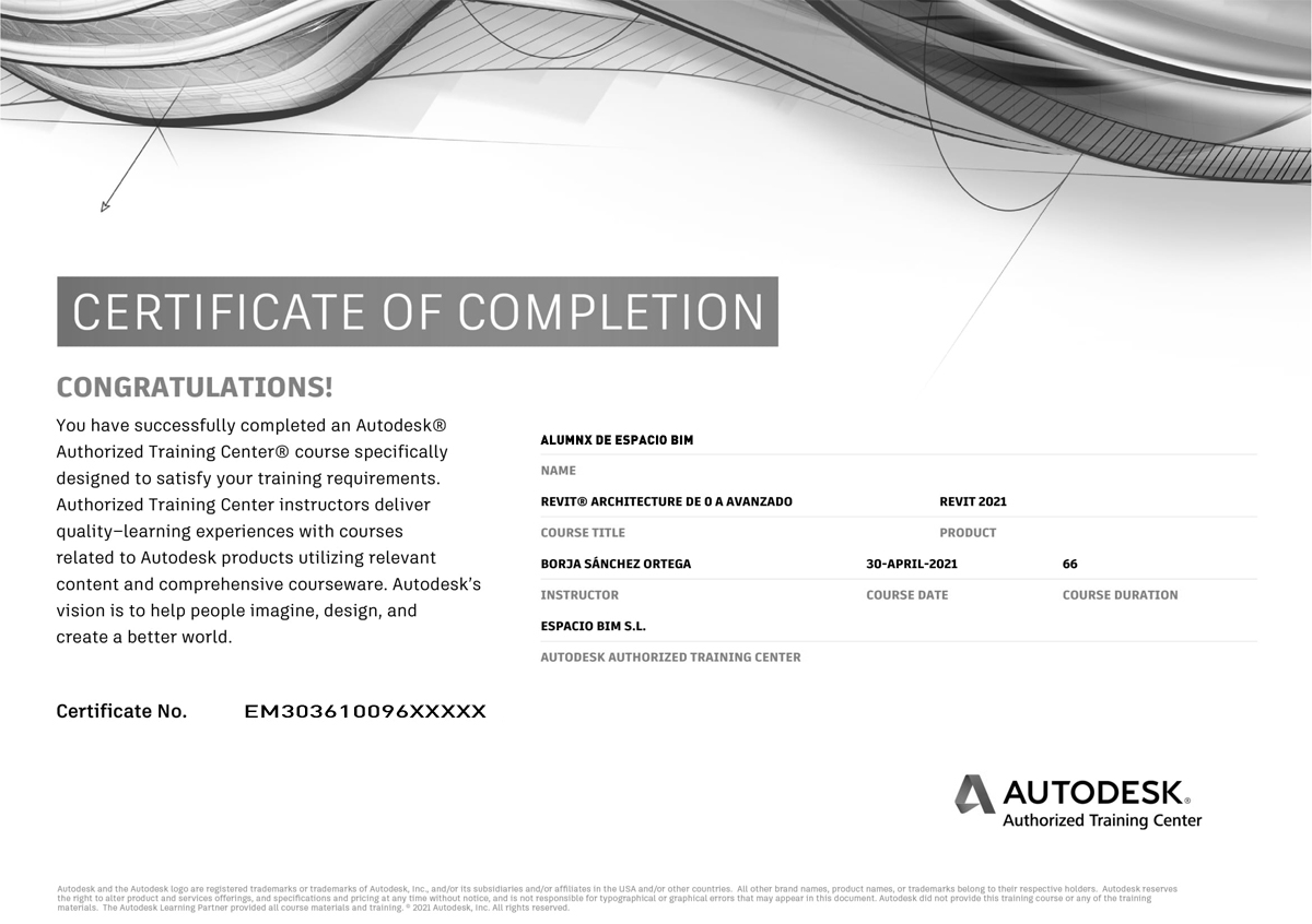 certificacion bim