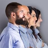 Borja, Ander, Maite y Saray