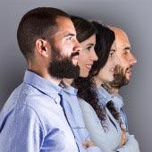 Borja, Itziar, Saray y Ander