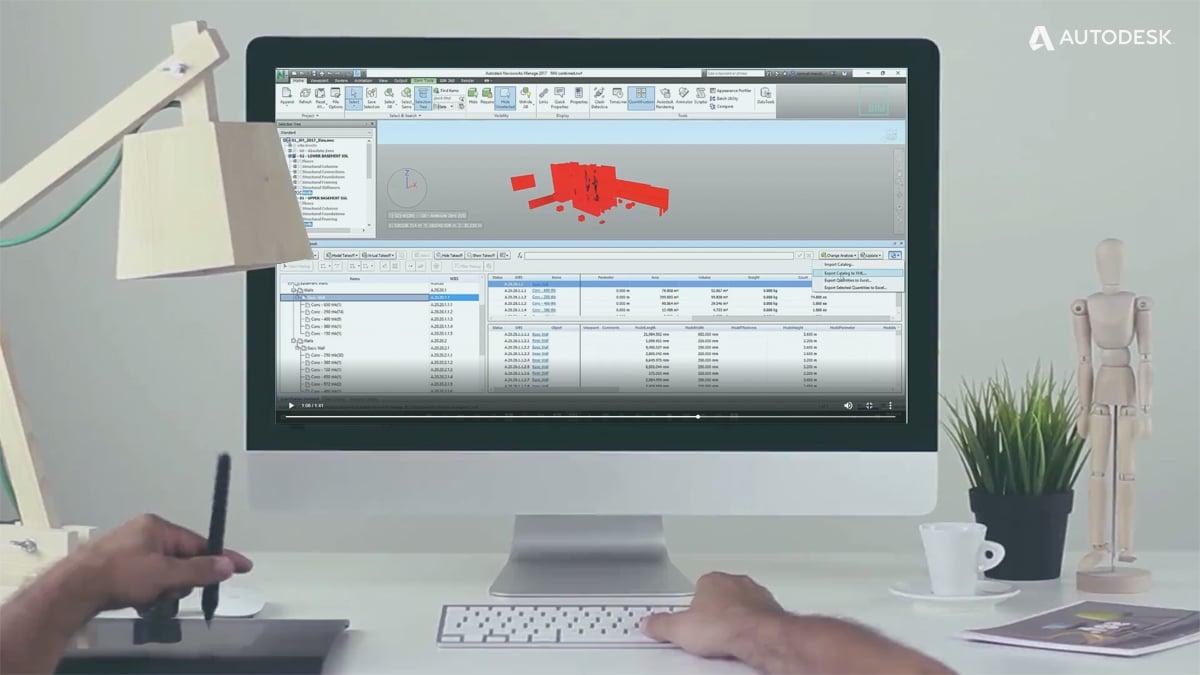 navisworks exportar excel analisis 5D